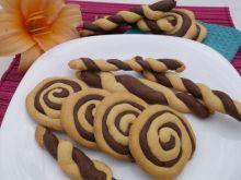 Ciasteczka czarno-białe