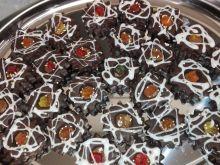 Ciasteczka czekoladowe przełożone nutellą