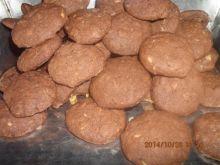 Ciasteczka czekoladowo-owsiane