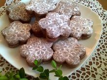 Ciasteczka dekorowane wałkiem grawerowanym