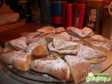 Ciasteczka Drożdżowe z jabłkiem