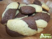 Ciasteczka dwukolorowe Beatris