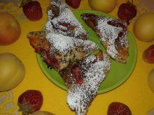 Ciasteczka francuskie z truskawką i morelą