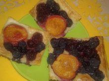 Ciasteczka francuskie z wieloma owocami