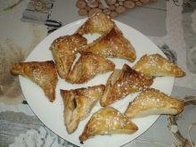 Ciasteczka francuskie ze śliwką i gruszką