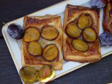 Ciasteczka francuskie ze śliwką węgierką
