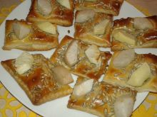 Ciasteczka gruszkowo - jabłkowe ze słonecznikiem