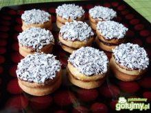 Ciasteczka imbirowe z różaną marmoladą