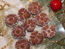 Ciasteczka kakaowe z maszynki