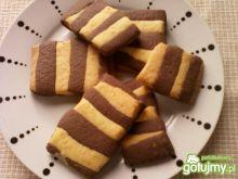 Ciasteczka kakaowo pomarańczowe
