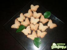 Ciasteczka kokosowe - motylki