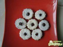 Ciasteczka kokosowe z marmoladą