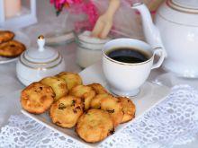 Ciasteczka kokosowe z żurawiną i orzechami