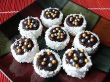 Ciasteczka korzenne z nutellą i orzechami