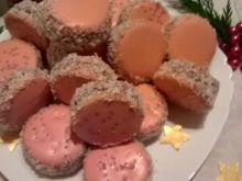 Ciasteczka kruche-różowe