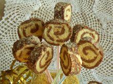 Ciasteczka lizaki z kaszy jaglanej