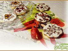 Ciasteczka lukrem malowane