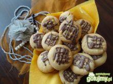 Ciasteczka miętowo - czekoladowe
