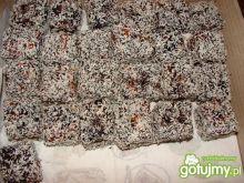 Ciasteczka miodowe z kokosem