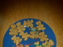 Ciasteczka misie z orzechów włoskich