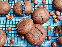 Ciasteczka Nutella (bez Nutelli, cukru i jajek)