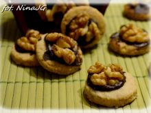 Ciasteczka orzechowe ze skwarków