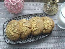 Ciasteczka orzechowo-kukurydziane