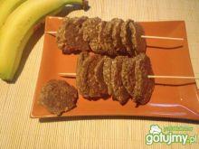 Ciasteczka otrębowe z bananem