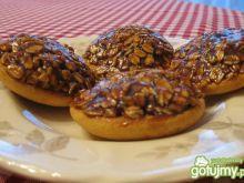 Ciasteczka owsiane na biszkoptach
