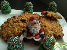 Ciasteczka owsiane z bakaliami