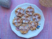 Ciasteczka owsiane z gofrownicy
