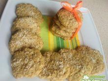 Ciasteczka owsiane z kokosem