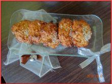 Ciasteczka owsiane z masłem orzechowym