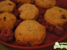 Ciasteczka owsiane z suszonymi owocami