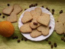 Ciasteczka pomarańczowo orzechowe