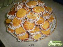 Ciasteczka przekładane z kokosem