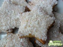 Ciasteczka serowe z białym lukrem
