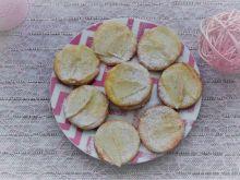 Ciasteczka serowe z gruszką