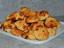 Ciasteczka serowe z kaszą manną i czekoladą