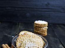 Ciasteczka szarlotkowe z cukrem perlistym