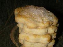 Ciasteczka waniliowe z cukrem