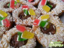 Ciasteczka z amoniakiem i nutellą