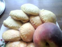 Ciasteczka z brzoskwiniami