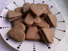 Ciasteczka z czekoladowym nadzieniem