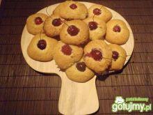 Ciasteczka z czereśniami.