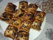 Ciasteczka z jabłuszkiem pod czekoladą