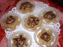 Ciasteczka  z kaszy gryczanej z orzechami
