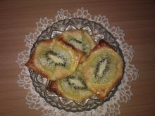 Ciasteczka z kiwi i kokosem