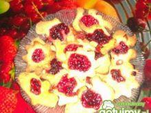 Ciasteczka z konfiturą wiśniową