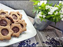 Ciasteczka z kremem czekoladowym